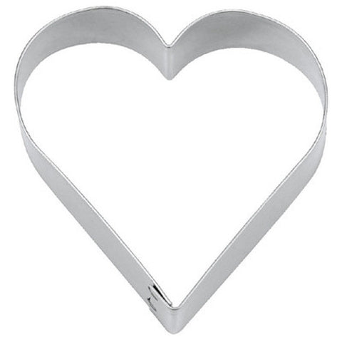 Heart 12.5cm Cookie Cutter | Cookie Cutter Shop Australia
