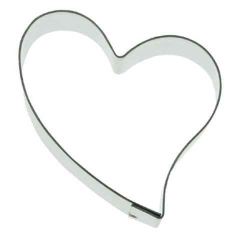 MIni Folk Heart 3.5cm Cookie Cutter-Cookie Cutter Shop Australia