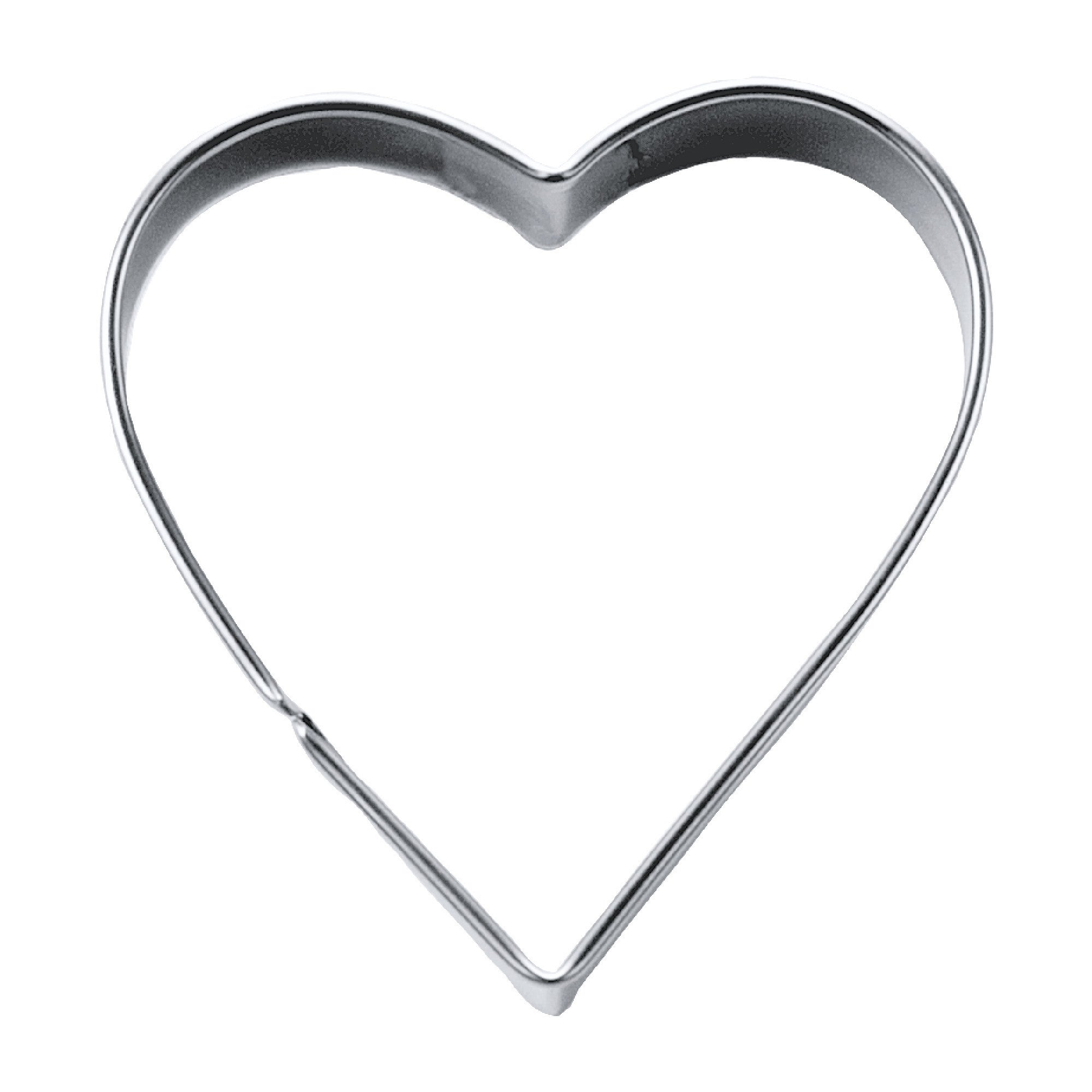 Heart 6cm Cookie Cutter-Cookie Cutter Shop Australia