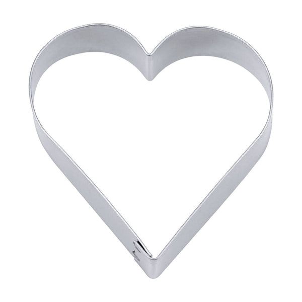 Heart 6cm Tin Plate Cookie Cutter-Cookie Cutter Shop Australia