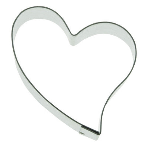 Heart 9.5cm Cookie Cutter-Cookie Cutter Shop Australia