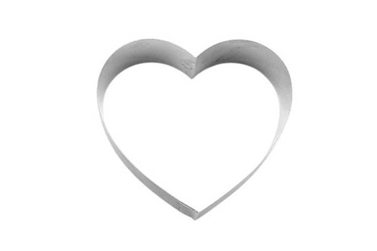 Heart Cookie Cutter/Food Ring 10cm-Cookie Cutter Shop Australia