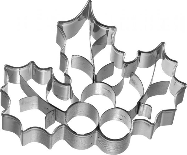 Holly Leaves With Internal Detail Cookie Cutter-Cookie Cutter Shop Australia