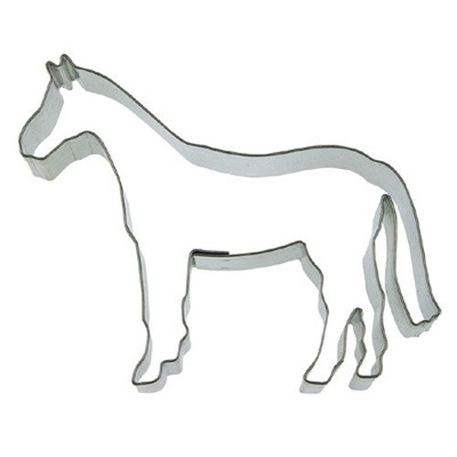 Horse 10cm Cookie Cutter-Cookie Cutter Shop Australia