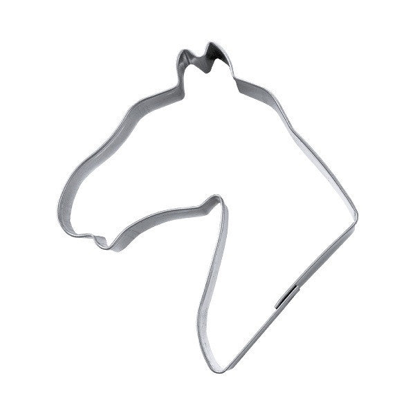 Horse Head 7cm Cookie Cutter | Cookie Cutter Shop Australia