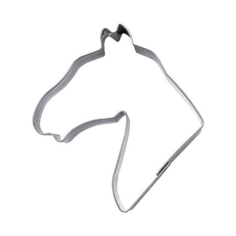 Horse Head 7.5cm Cookie Cutter-Cookie Cutter Shop Australia