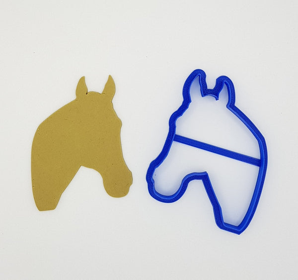 Horse Head 11.5cm Cookie Cutter-Cookie Cutter Shop Australia