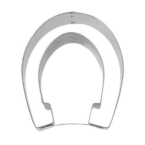 Horseshoe 7cm Cookie Cutter-Cookie Cutter Shop Australia