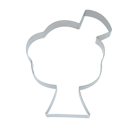 Icecream Sundae 10cm Cookie Cutter-Cookie Cutter Shop Australia