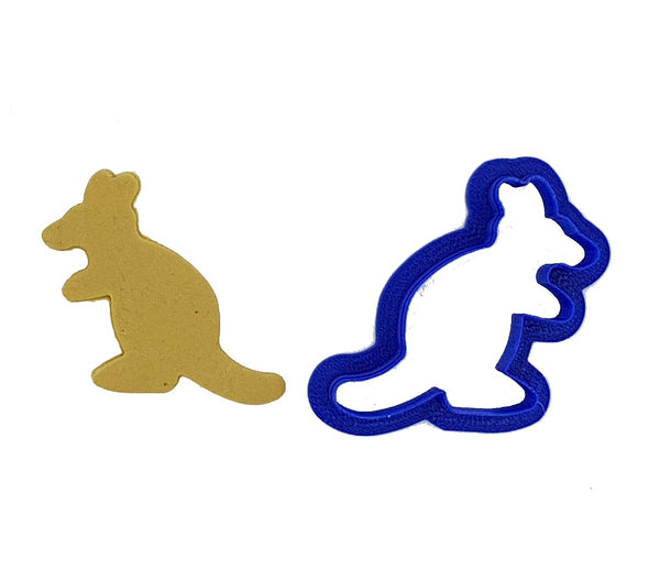 Kangaroo 5cm Cookie Cutter