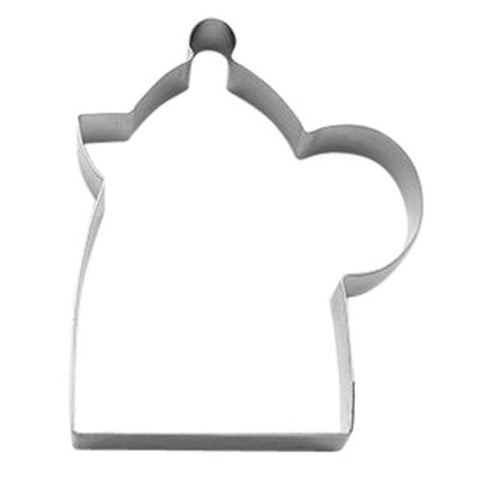 Kettle 8cm Cookie Cutter-Cookie Cutter Shop Australia