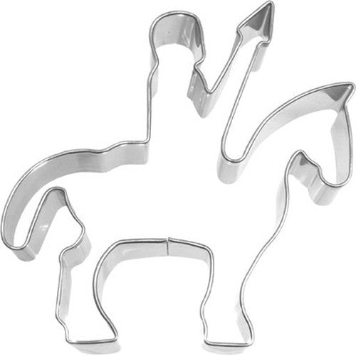 Knight with Lance On Horse 9cm Cookie Cutter-Cookie Cutter Shop Australia