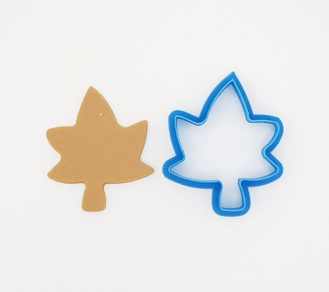 Leaf 6.5cm Cookie Cutter-Cookie Cutter Shop Australia