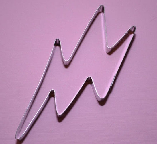 Lightning Bolt 14cm Cookie Cutter-Cookie Cutter Shop Australia