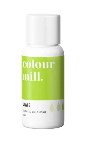 Lime Oil Based Colouring 20ml