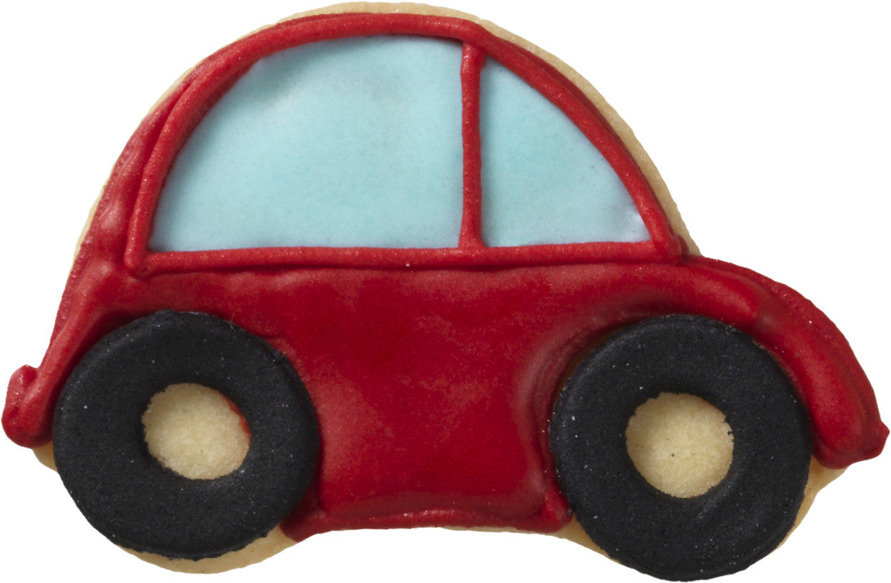 Little Car 6.5cm With Internal Detail Cookie Cutter | Cookie Cutter Shop Australia