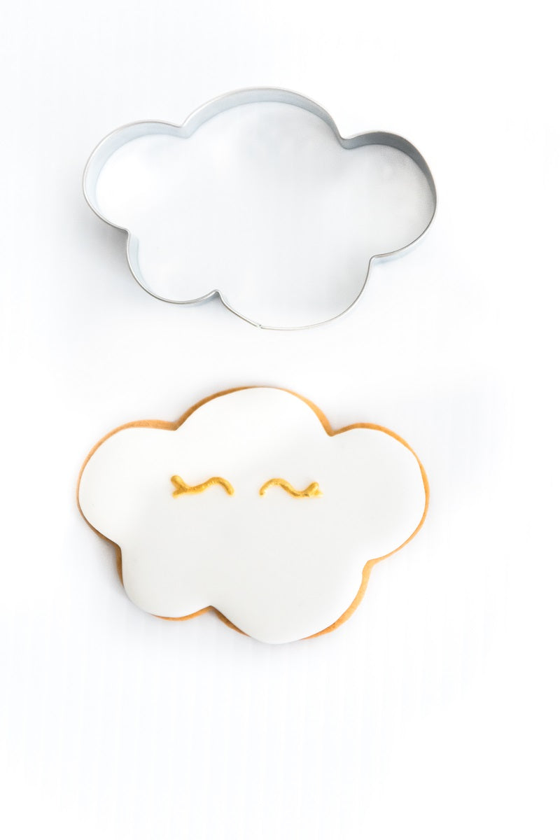 Cloud 9cm Cookie Cutter-Cookie Cutter Shop Australia