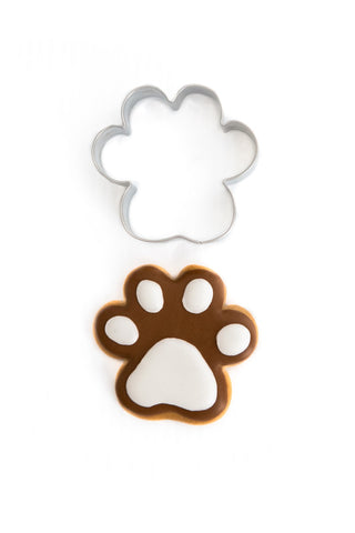 Paw Print 6.5cm Cookie Cutter-Cookie Cutter Shop Australia