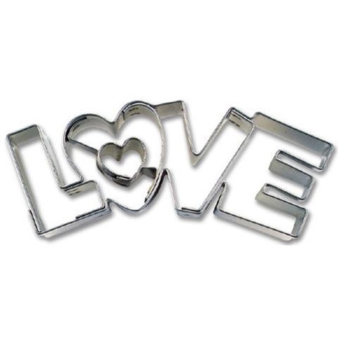 Love Word Cookie Cutter-Cookie Cutter Shop Australia
