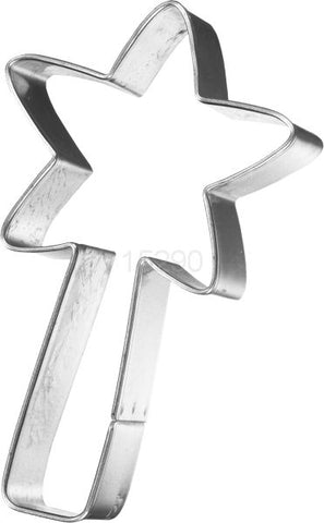 Magic Fairy Wand 8cm Cookie Cutter-Cookie Cutter Shop Australia