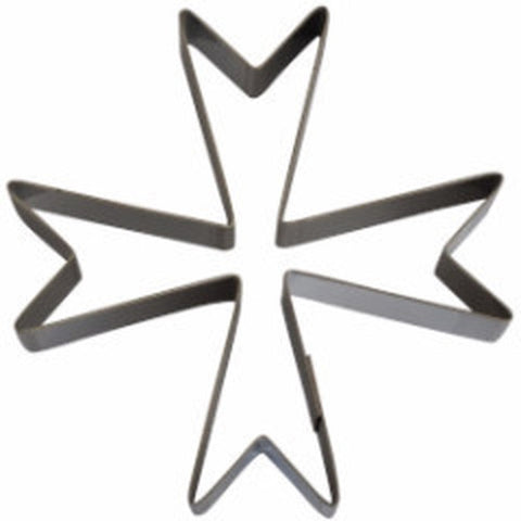 Maltese Cross Large 20cm Cookie Cutter-Cookie Cutter Shop Australia