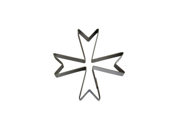 Maltese Cross 7cm Cookie Cutter-Cookie Cutter Shop Australia
