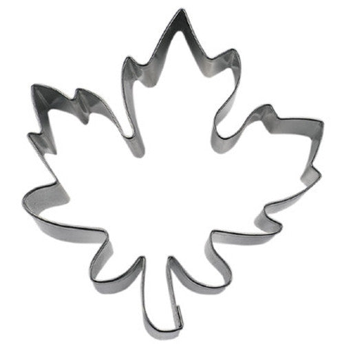 Maple Leaf 8cm Cookie Cutter-Cookie Cutter Shop Australia