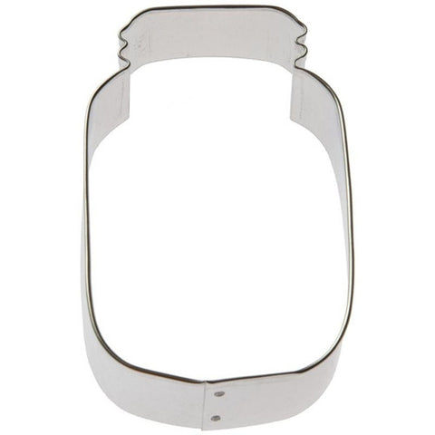 Mason Jar 11cm Cookie Cutter-Cookie Cutter Shop Australia