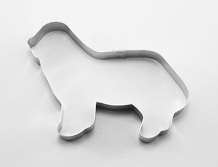 Mastiff Dog Cookie Cutter