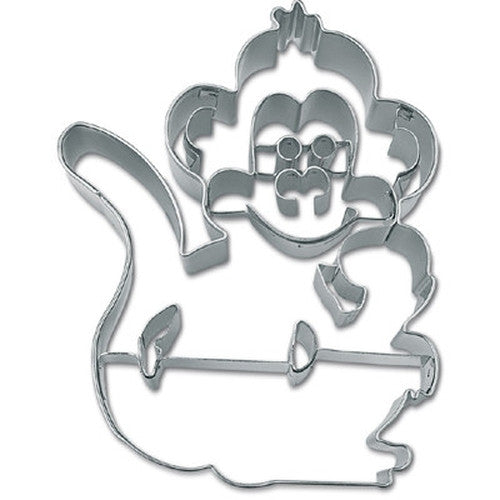 Monkey with Embossed Face 9.5cm Cookie Cutter-Cookie Cutter Shop Australia