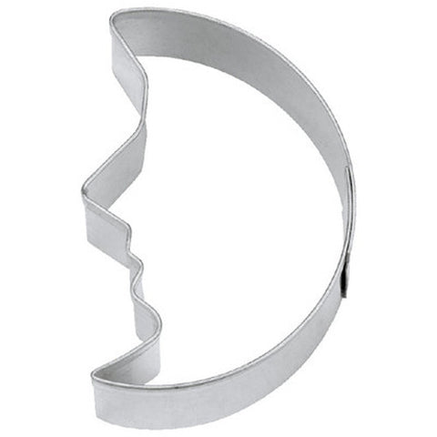 Moon with Face 5.5cm Cookie Cutter-Cookie Cutter Shop Australia