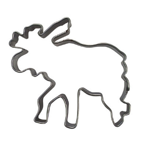 Moose Deer 5.5cm Cookie Cutter-Cookie Cutter Shop Australia