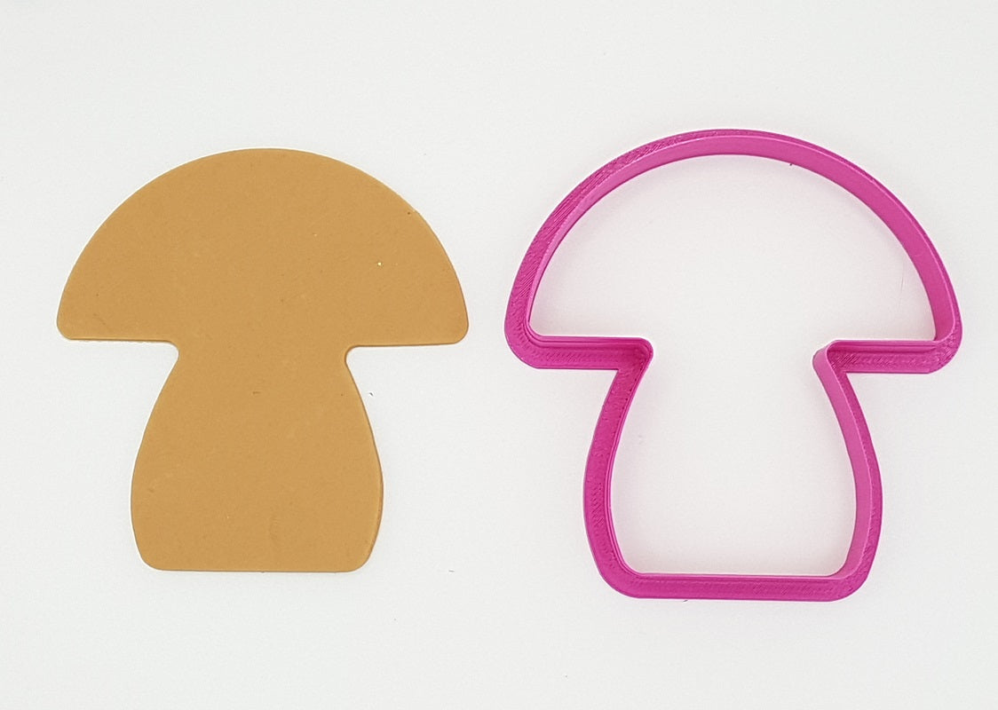 Mushroom 9cm Cookie Cutter-Cookie Cutter Shop Australia