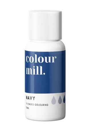 Colour Mill Navy Oil Based Colouring 20ml | Cookie Cutter Shop Australia