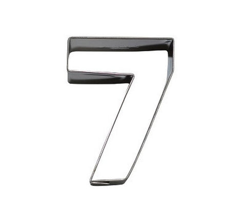 Number 7 6.5 cm Cookie Cutter Stainless Steel-Cookie Cutter Shop Australia