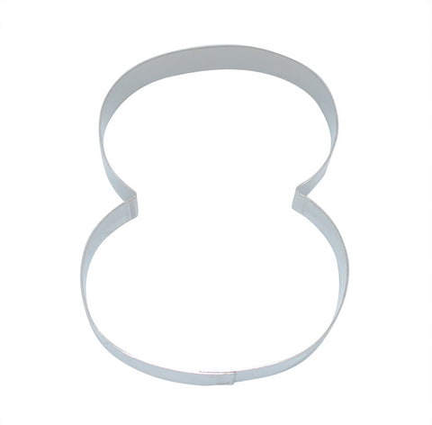 Number 8 7.5cm Cookie Cutter-Cookie Cutter Shop Australia