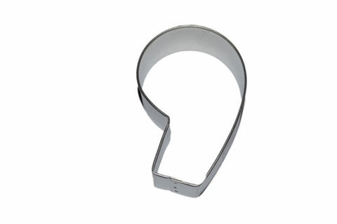 Number 9 Tin Plate Cookie Cutter-Cookie Cutter Shop Australia