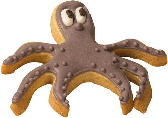 Octopus 9.5cm Cookie Cutter-Cookie Cutter Shop Australia