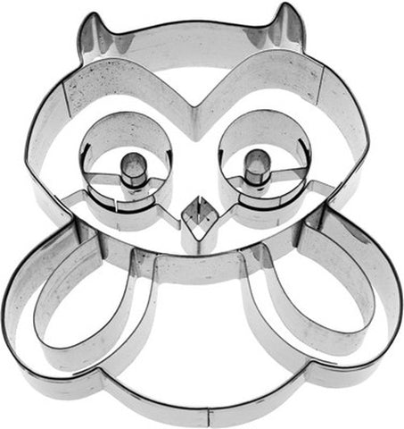 Hugo Owl 7.5cm Cookie Cutter-Cookie Cutter Shop Australia