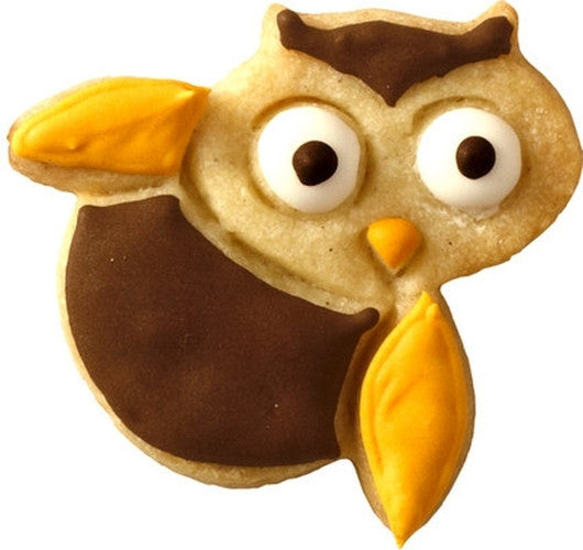 Petie Owl 5cm Cookie Cutter-Cookie Cutter Shop Australia