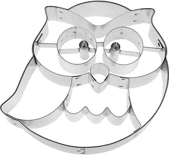 Frido Owl 10cm Cookie Cutter-Cookie Cutter Shop Australia