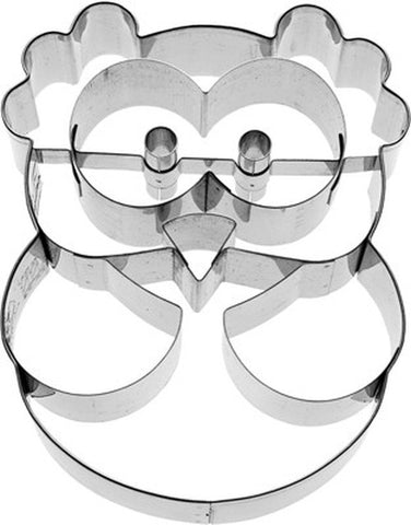 Alva Owl 9cm Cookie Cutter-Cookie Cutter Shop Australia