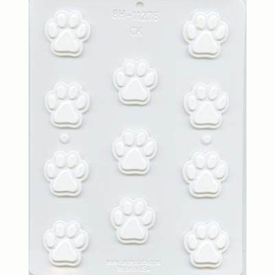 Paw Print 3.7cm Hard Candy Mould-Cookie Cutter Shop Australia