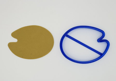 Paint Palette 10cm Cookie Cutter-Cookie Cutter Shop Australia