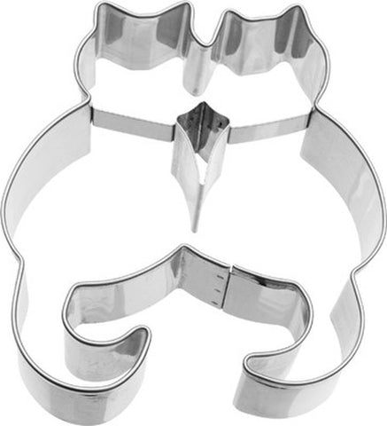 Pair of Cats 9cm Cookie Cutter-Cookie Cutter Shop Australia