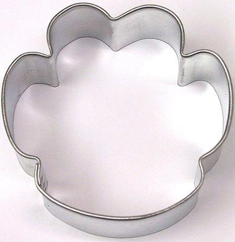 Paw Print 6cm Cookie Cutter-Cookie Cutter Shop Australia