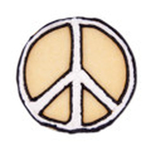 Peace Sign 6.5cm Cookie Cutter-Cookie Cutter Shop Australia