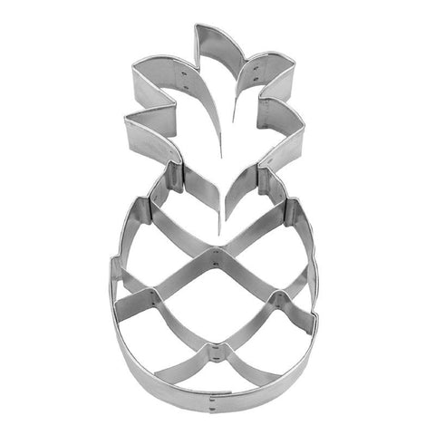 Pineapple Cookie Cutter with Internal Detail 9.5cm | Cookie Cutter Shop Australia