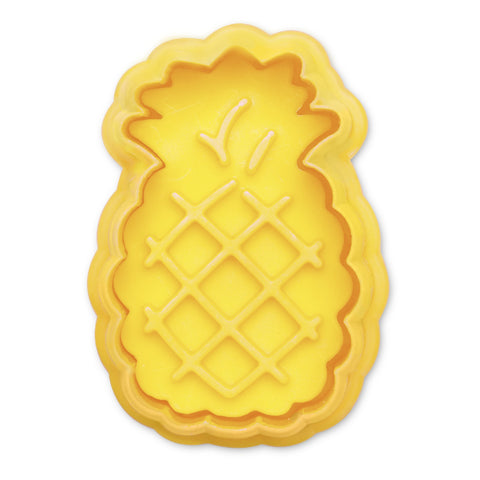 Pineapple Cookie Cutter with Stamp | Cookie Cutter Shop Australia