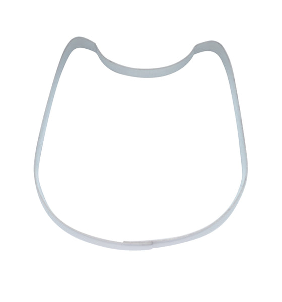 Plain Baby Bib 8cm Cookie Cutter-Cookie Cutter Shop Australia